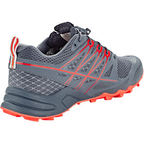 The North Face Ultra MT II GTX Chaussures Femme, grisaille grey/fiery coral